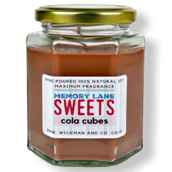 Memory Lane Sweets - Cola Cubes Soy Wax Candle
